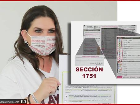 En conteo de voto por voto gana Norma Layón en  Texmelucan