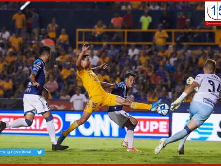 Puebla arrebata lo invicto a Tigres como visitante