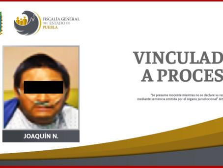 Vinculado a proceso implicado en muerte de policía de Huejotzingo