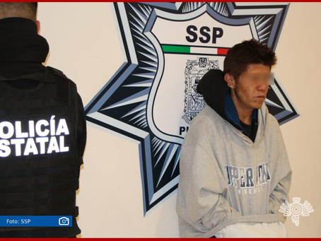 Capturan a presunto asaltante de la Ruta 61A