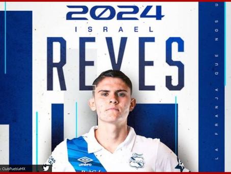 Israel Reyes firma permanencia con el Club Puebla hasta 2024