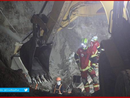 Concluye rescate de cuerpos en Texmelucan y clausuran obras
