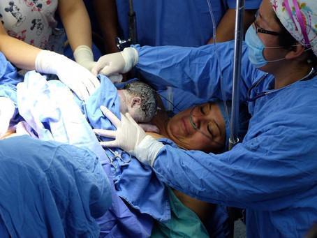 Aylín es la primera bebé que nace en el IMSS en 2019