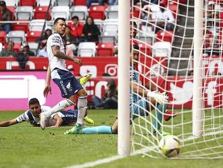 Cae Puebla 2-0 ante Toluca como visitante en el Nemesio Diez