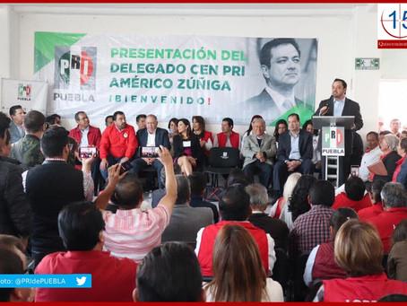 Morena ganó en Puebla por el voto de priístas enojados: Zúñiga