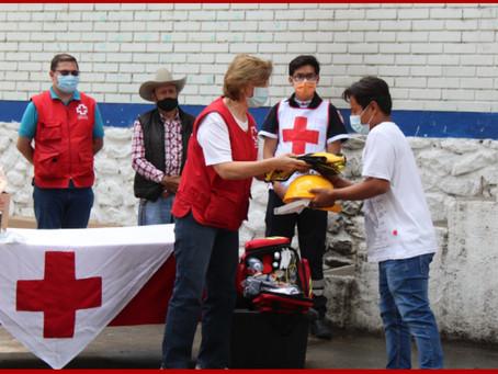 Cruz Roja Puebla forma brigadas de primeros auxilios en San José el Aguacate