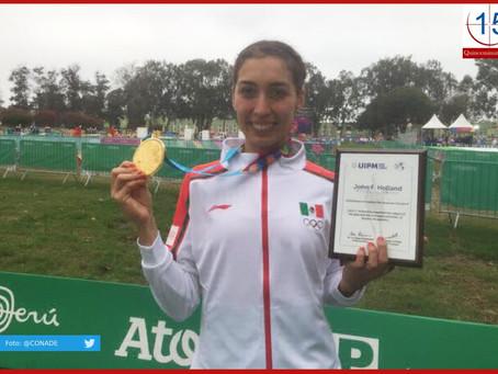 Hace historia Mariana Arceo al ganar oro en pentatlón moderno