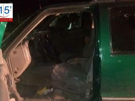 Se registra balacera en calles de Acatzingo