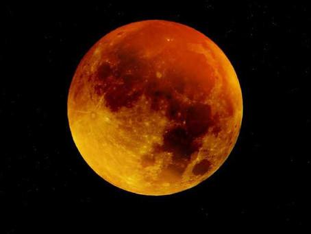 El próximo 20 de enero será la Luna de Sangre