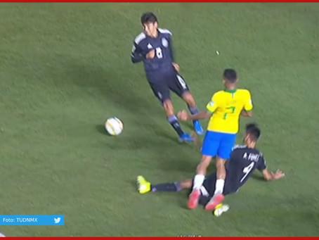 Tras polémico penal cae México ante Brasil en la final de Mundial Sub 17