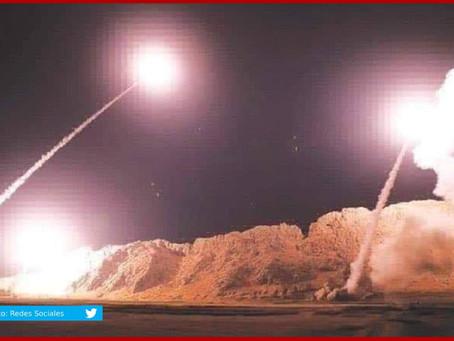 Dispara Irán misiles contra bases de EUA en Irak