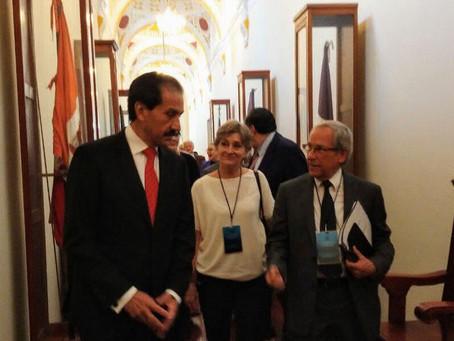 Presenta Enrique Cárdenas sus propuestas en la BUAP