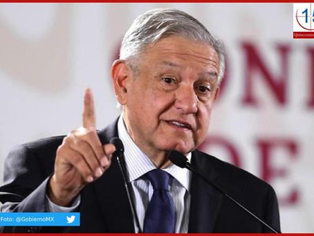"Con EUA queremos ""respeto mutuo"" a nuestras soberanías: López Obrador"
