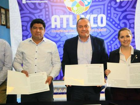 Atlixco y Huaquechula hacen sinergia para trabajar por el turismo
