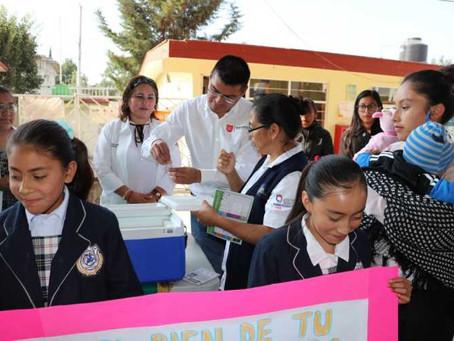 Inaugura Alejandro Martínez Primera Semana Nacional de Salud en Quecholac