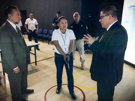 Refuerzan conocimientos teóricos y prácticos a Policías Estatales de Puebla