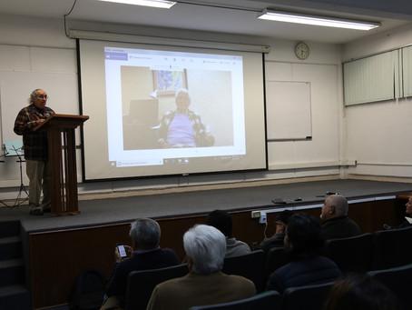 Escuela Latinoamericana de Astronomía rinde homenaje a Octavio Cardona Núñez