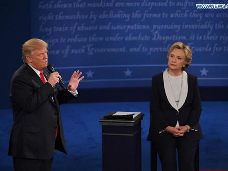 Debate presidencial de EUA fue intercambio de ataques personales