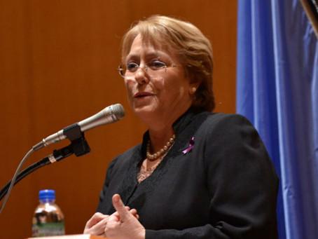 ONU nomina a Bachelet como Alta Comisionada para los Derechos Humanos
