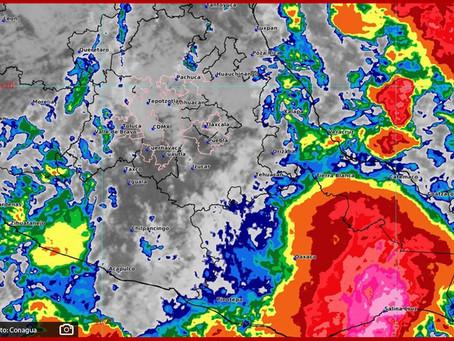 Puebla, en alerta por llegada de la Onda Tropical número 29