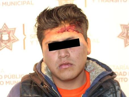 Detienen a otro policía de Claudia Rivera; ahora por robo y lesiones