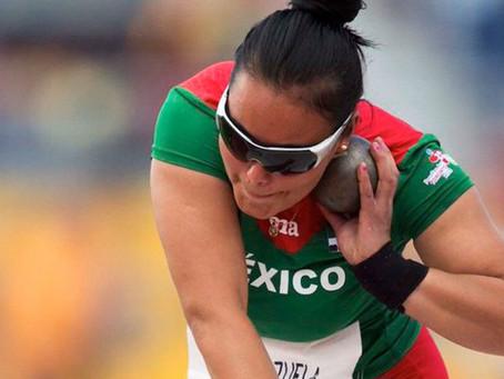 Rebeca Valenzuela gana bronce en lanzamiento de bala