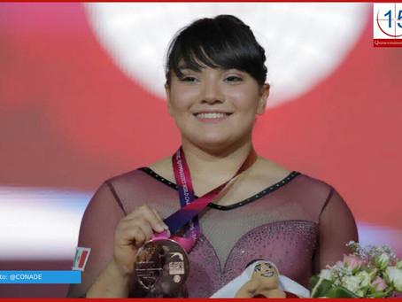 Alexa Moreno gana el Premio Nacional de Deportes 2019