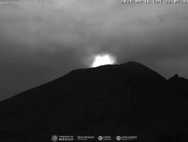 Registra el Popocatépetl tres fuertes explosiones en menos de 12 horas