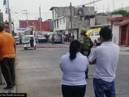 Ejecutan a comandante de Acatzingo en un mototaxi