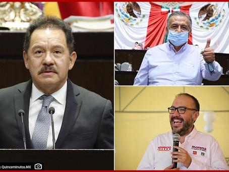 Pide Ignacio Mier retrasar desafuero de Saúl Huerta y Mauricio Toledo