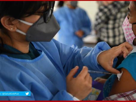 Alcanza máximo histórico vacunación en zona conurbada: Salud