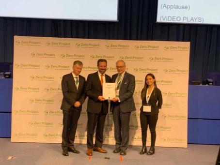 Recibe INE premio Zero Project 2019 por innovaciones en accesibilidad de personas con discapacidad