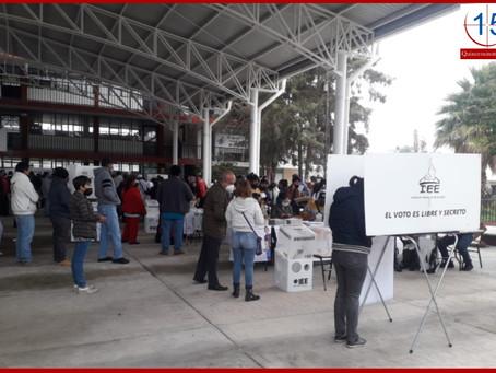 Sin incidentes graves,  jornada electoral en Puebla