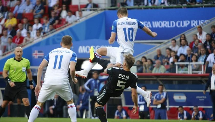 Argentina Vs Islandia, Rusia 2018. Foto: AFA