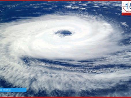 Ciclón tropical y frente frío provocarán lluvias torrenciales e intensas