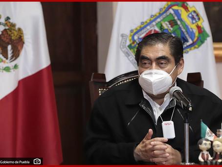 En Puebla no hay rezago en aplicación de vacunas contra Covid-19: MBH
