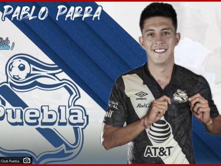 Ficha el Club Puebla al Parrita, mediocampista de la selección de Chile