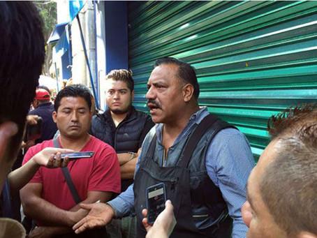Protestan ambulantes contra reordenamiento del centro histórico