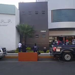 Vándalos destrozan las oficinas del sindicato del Ayuntamiento de Puebla