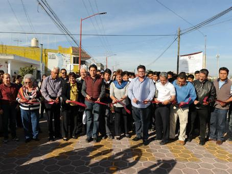 Concluye la reconstrucción de la 15 norte-sur de San Pedro Cholula