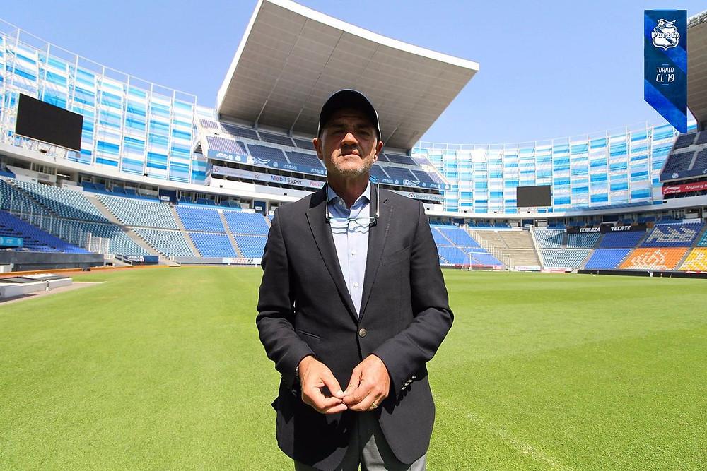 José Luis Sánchez Solá. Foto: Club Puebla