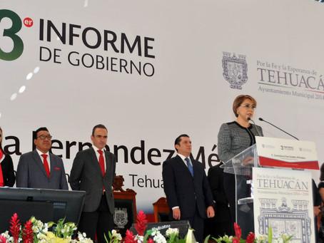 Destaca Chidiac desempeño de Ernestina Fernández durante su 3er. Informe