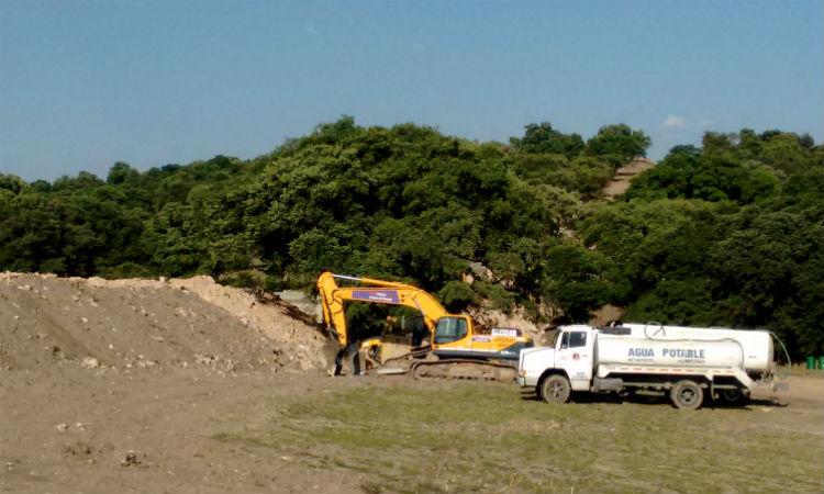 En menos de dos meses derrumban bosque y construyen puente / Foto: Quinceminutos.mx