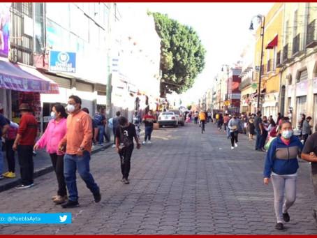 Registra Puebla 1,279 nuevos casos de Covid-19 entre Navidad y Año Nuevo