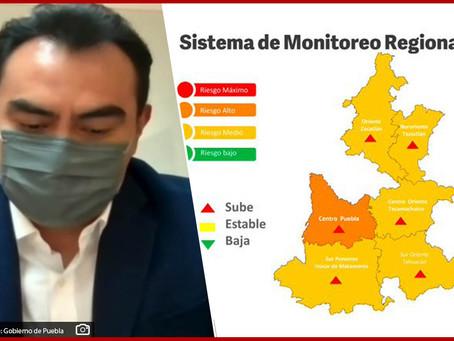 Registra Puebla su pico más alto de contagios de Covid-19 en tercera ola