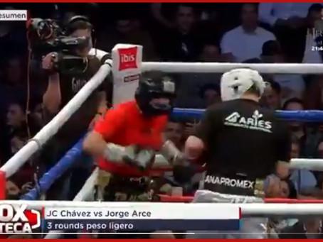 [ VIDEO ] Reviven Julio César Chávez y El Travieso Arce la gloria del boxeo