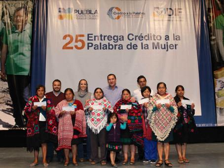 RMV concluye entregas del crédito a la palabra de la mujer y anuncia continuidad del programa