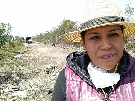 Limpian tiradero a cielo abierto en Xoxtla
