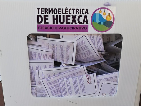 Inicia en calma el segundo día de consulta por termoeléctrica de Huexca
