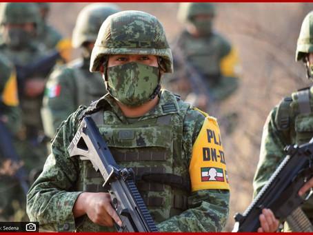 Realiza Sedena operativo a la Policía Estatal en Puebla